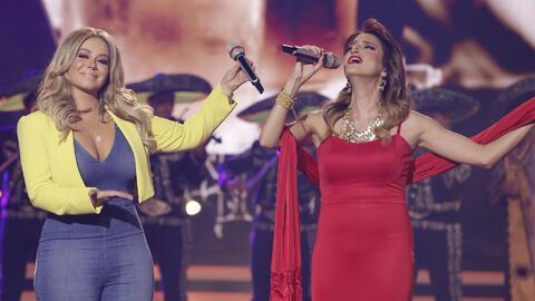 Chiquis le hizo honor a Jenni Rivera al cantar con una participante