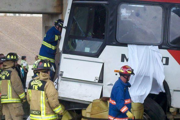 El accidente ocurrió cuando Sayers iba a devolver la unidad al Centro de...