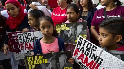 ACLU quiere reunificación de familias en suelo de EEUU, pero el gobierno de Trump en países de padres deportados