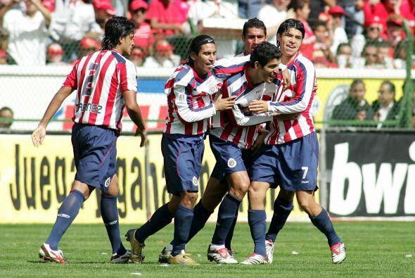 Guadalajara fue el otro caso, el el Rebaño se coronó en el Apertura 2006...