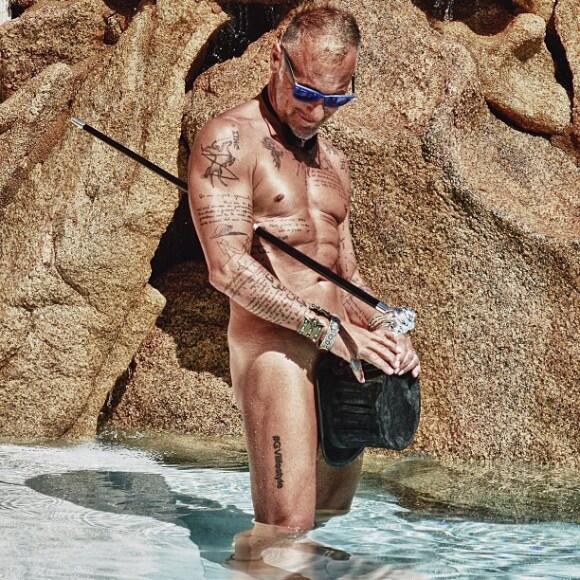 Envejecer le sienta así de bien a Gianluca Vacchi, que ya cumpió  50 año...