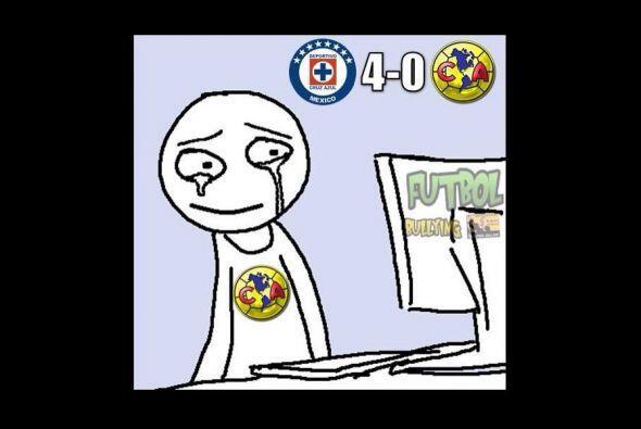 La derrota del América por goleada ante Cruz Azul desató l...