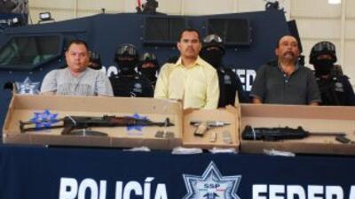 Autoridades mexicanas anunciaron la captura del ex policía municipal Mar...