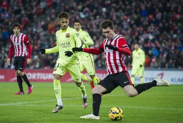 Athletic Bilbao sacó fuerzas y comenzó apretar al Barcelona y consiguió...