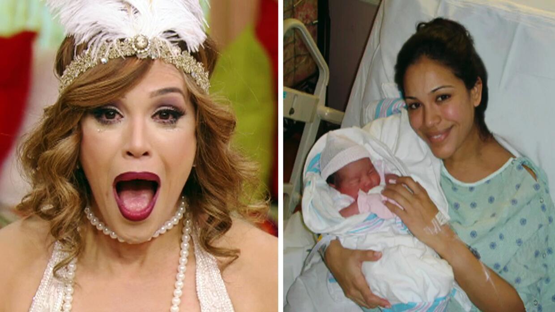 Sorprendimos a Karla Martínez recordándole el día en que nació su primer...