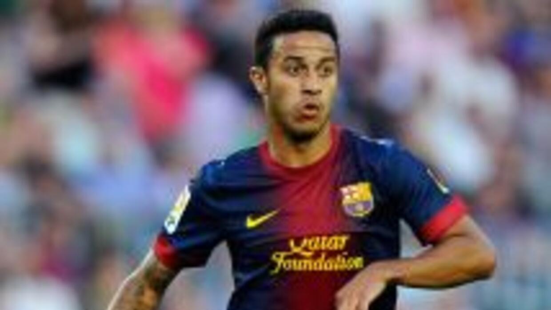 Thiago estuvo en las instalaciones del Barcelona al inicio de su pretemp...