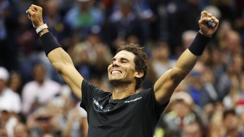 Rafael Nadal conquistó dos grand slams en 2017.