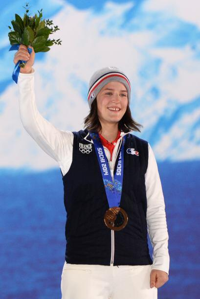 La francesa Coline Mattel ganó bronce en la prueba de salto con e...