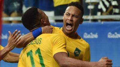 Brasil despertó y goleó a Dinamarca para seguir soñando con la medalla de oro
