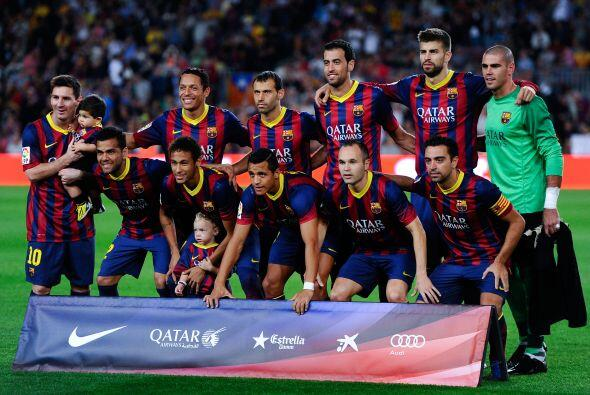 Nuevo partido en el Camp Nou en el que el Barcelona recibía a la...