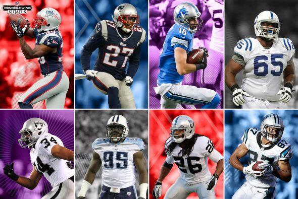 7. Draft picks: En los últimos ocho drafts, en promedio, el primer jugad...