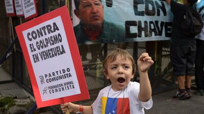 Dos marchas pusieron en vilo a Venezuela