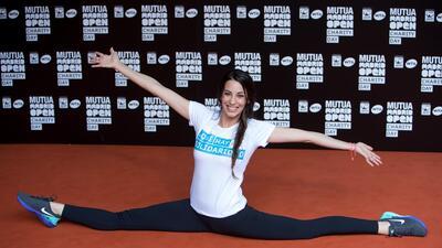 Almudena Cid, la gimnasta olímpica que dio el salto a la farándula