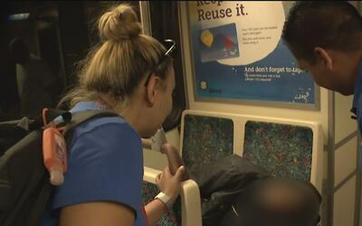 Implementa programa en las estaciones de metro de Los Ángeles para los d...