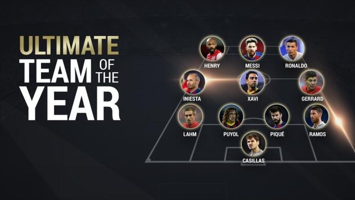 El XI histórico de la UEFA solo tiene dos jugadores sin pasado en el Bar...