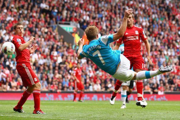 Ya en la segunda etapa, el Sunderland encontró la igualdad con un golazo...