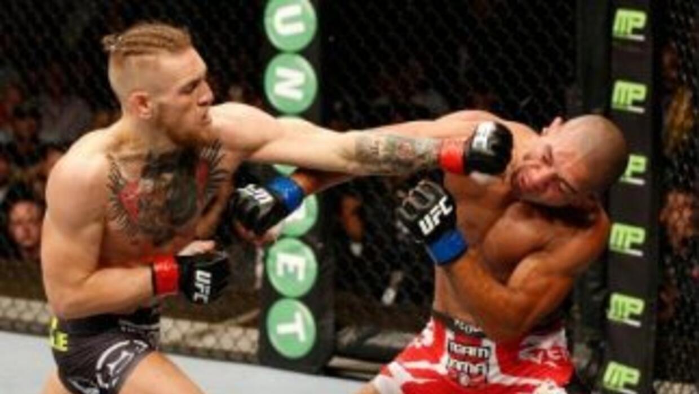 McGregor noqueó en un round a Brandao (Foto: Twitter).