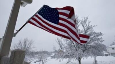 Por segunda vez en una semana, una fuerte tormenta invernal paralizó par...