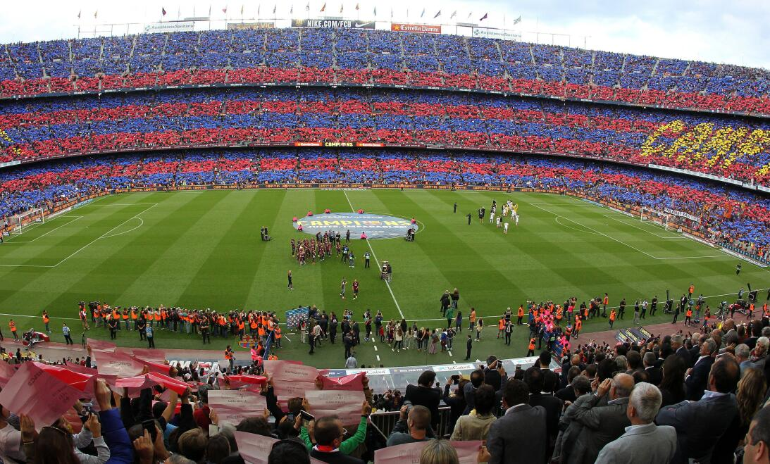 In photos: Barcelona in happier times - from Gaudi to Messi. 10454882_8_...