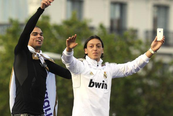También lo hacían jugadores como Mesut Özil y Pepe.