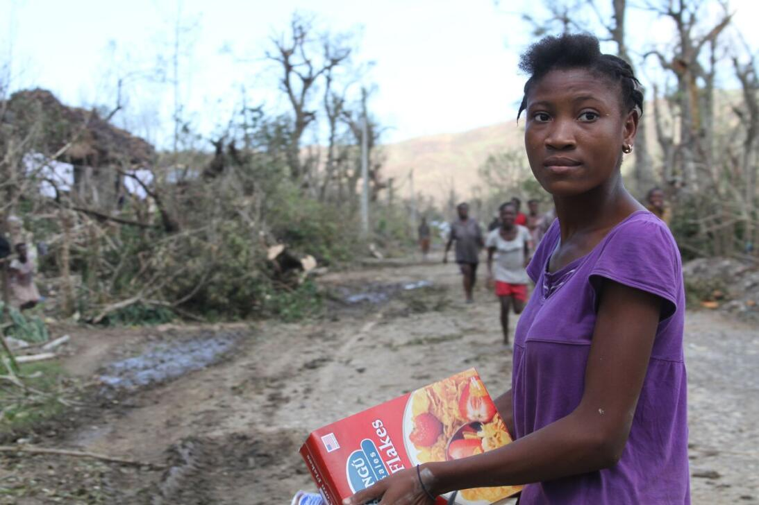 In pictures: Haiti's post-hurricane Matthew relief effort underway Cappo...
