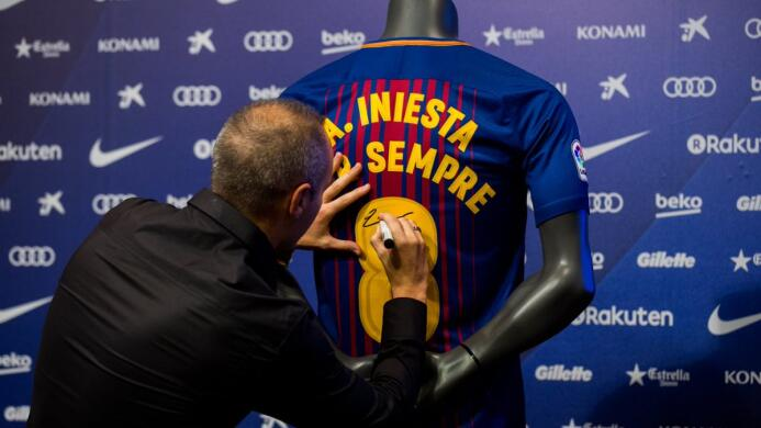 Iniesta y Barcelona, una historia de amor que durará toda la vida dlc-ga...