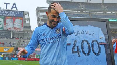 En 'su' día, David Villa agradeció el homenaje de New York City FC con dos goles