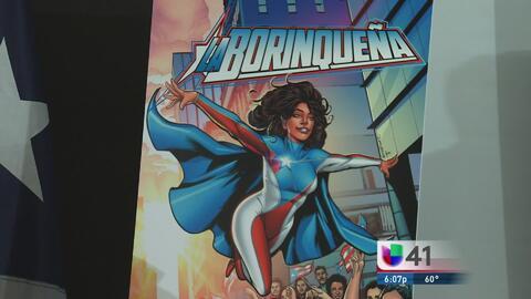 """Con """"La Borinqueña"""" como superheroína los puertorriqueños desfilarán en NYC"""