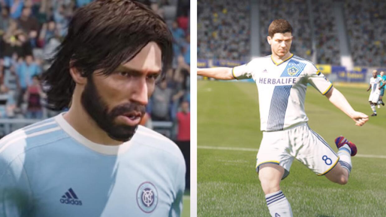 FIFA 16 Andrea Pirlo y Steven Gerrard