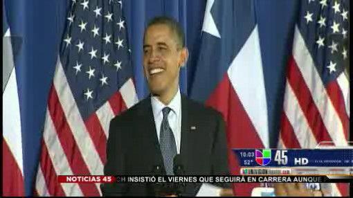 MARZO  Houston tuvo en marzo una visita especial. Se trató del president...