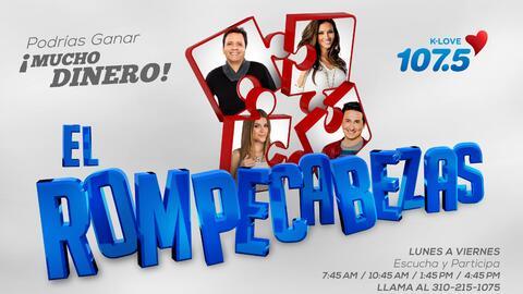 El Rompecabezas te hará ganar ¡MUCHO DINERO! en K-Love 107.5FM