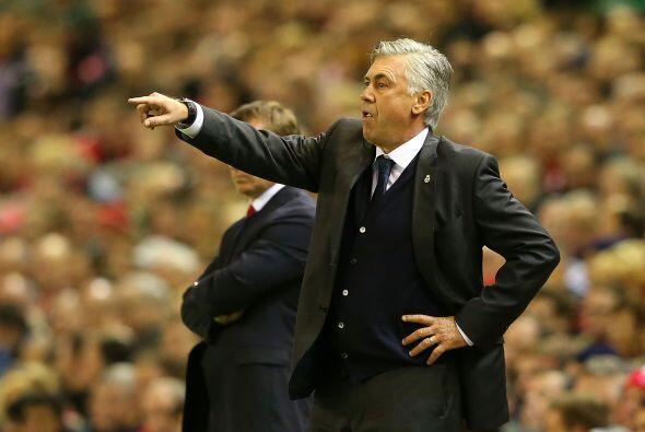 El italiano, técnico del Real Madrid, ha logrado ensamblar un equipo tem...