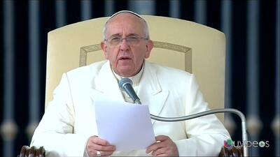 El Papa Francisco pide la paz para Venezuela