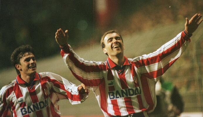Temporada 1996/1997 - Milinko Pantic (Atlético de Madrid) con 5 goles.