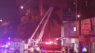 Decenas de personas quedan sin fluido eléctrico tras un incidente con una grúa de construcción
