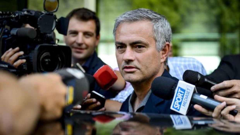 'The Special One' atendió a la prensa en el Foro de la UEFA de entrenado...