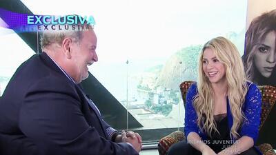 Shakira no controló las preguntas del Gordo de Molina