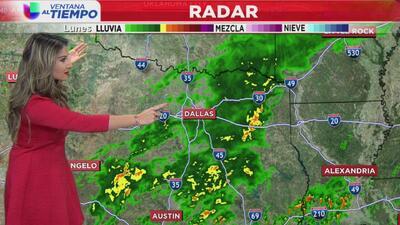 Ventana al Tiempo: ¿Continuarán las fuertes lluvias este miércoles en Dallas?