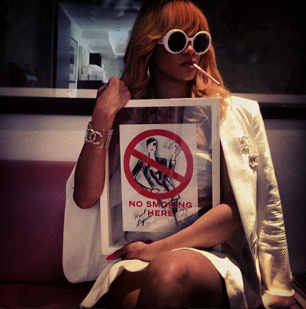 """Yo soy diferente. It's a #Coco thing!!""-Rihanna."