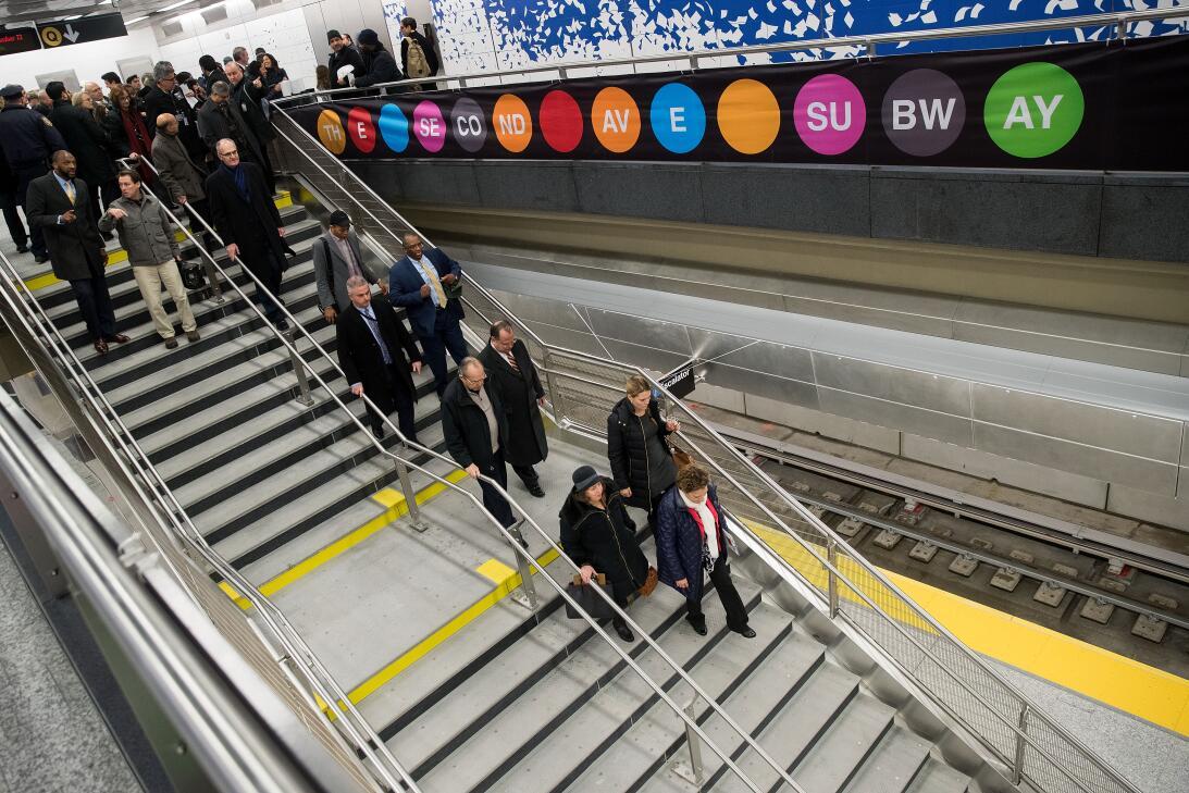 La primera propuesta de este tramo en Manhattan asciende a la década de...