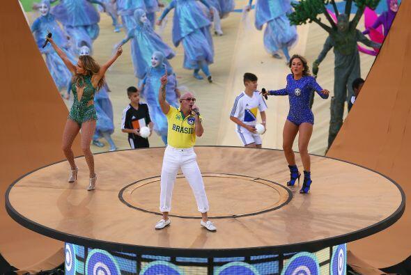 El Mundial de Futbol de Brasil 2014 tuvo una apertura inigualable.Todo s...