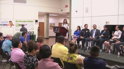 Especialistas calmaron la ansiedad y el temor de muchos hispanos en el f...