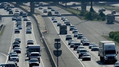 Cerca de 50 millones de personas se moverán en auto, tren o avión para el 4 de julio (en fotos)