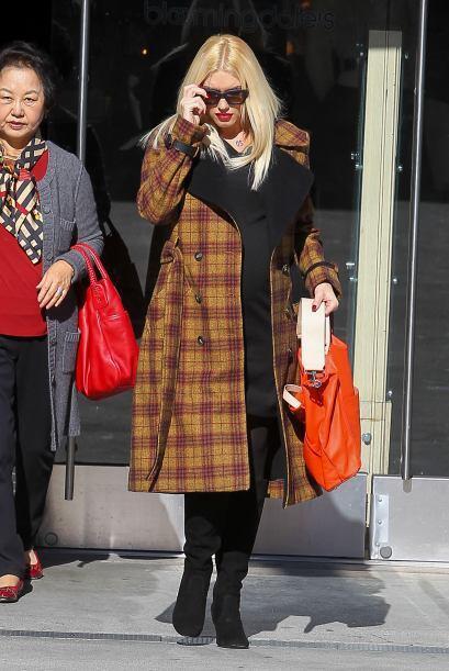 """Gwen aprovechó las compras después del """"Black Friday&..."""