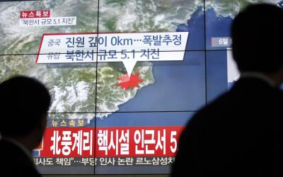 Corea del Norte ensaya con una bomba de hidrógeno