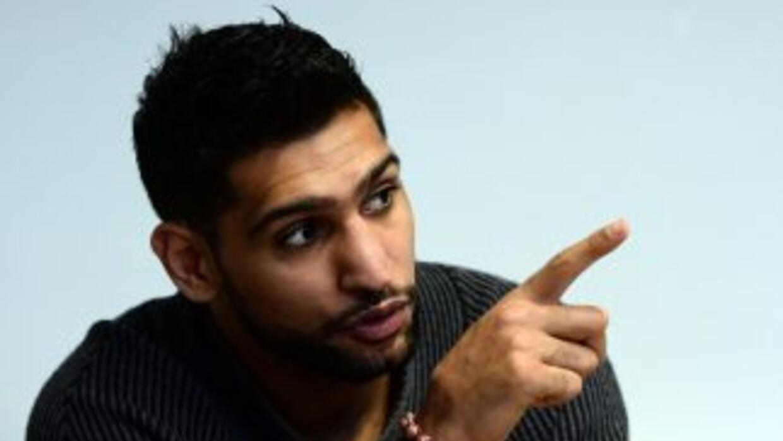 Amir Khan no peleará con Kell Brook en el 2015.