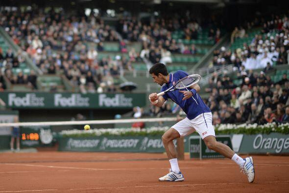 Novak Djokovic necesitó tan sólo de 1 hora y 26 minutos para finiquitar...