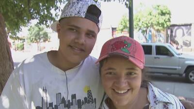 Así fue el reencuentro entre una madre y su hijo tras ser separados al solicitar asilo en la frontera
