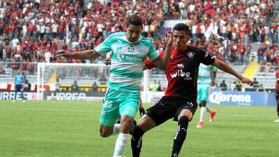 Atlas y Santos reparten puntos