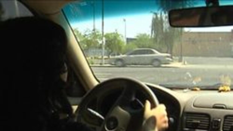 Joven conductora de Phoenix